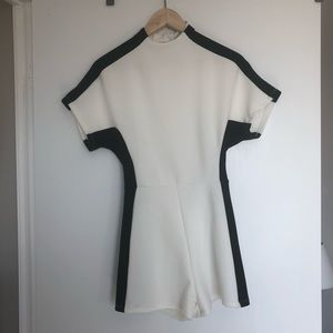 Urban Outfitters Pants - UO Modern Illusion Colorblock Mock Neck Romper